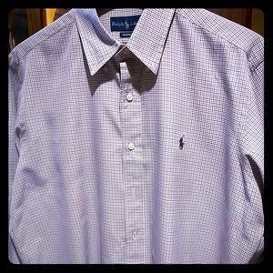 Ralph Lauren Men's Classic LS Button Down Shirt